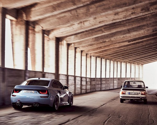 BMW Hommage, вид сзади