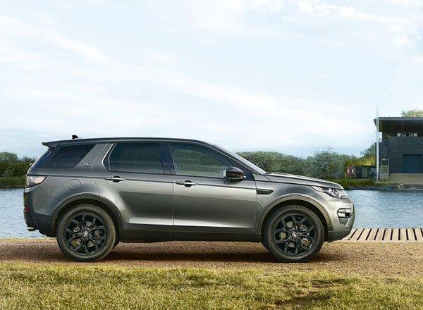 Land Rover Discovery 7 Plus, вид сбоку