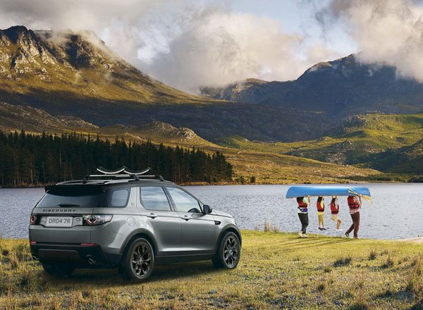 Задняя оптика Land Rover Discovery 7 Plus