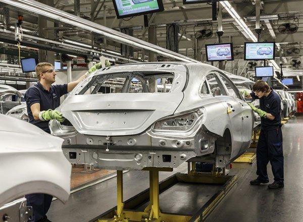 Выпуск атвомобилей Mercedes в Подмосковье