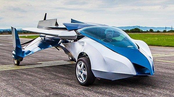 Смогут ли летающие автомобили стать скорой реальностью
