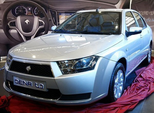 Новый седан Iran Khodro Dena