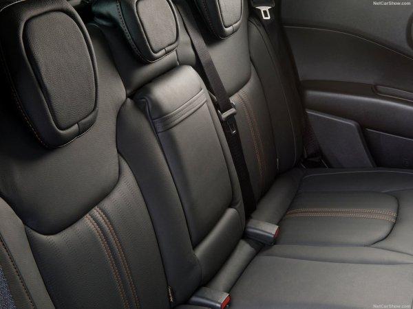 Fiat Toro нового поколения, задние сидения