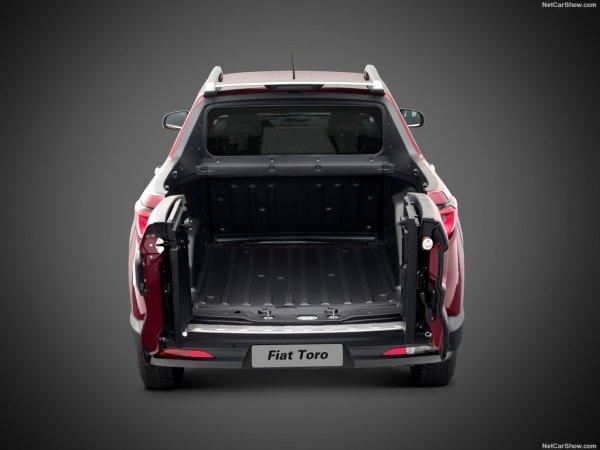 Toro 2016, багажник