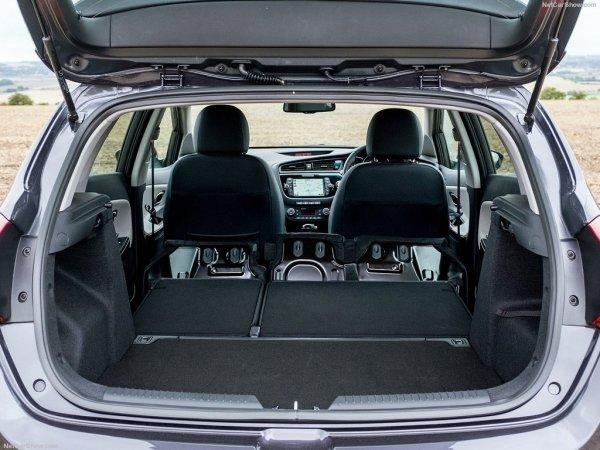 Киа Сид нового поколения, багажник