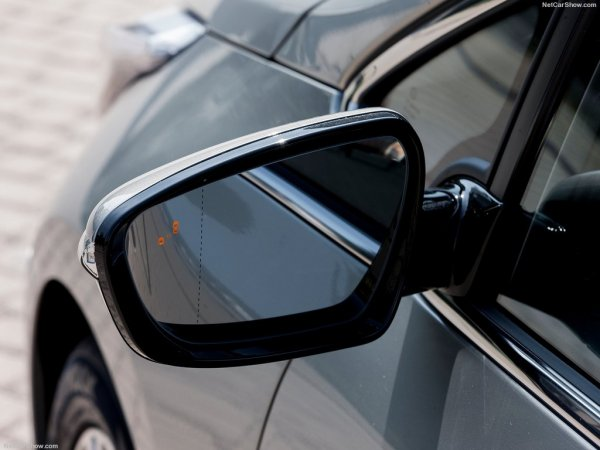 Киа Сид 2016, левое зеркало заднего обзора