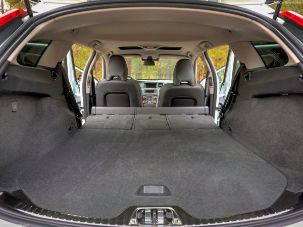 Новый Вольво V60 Cross Country, багажник