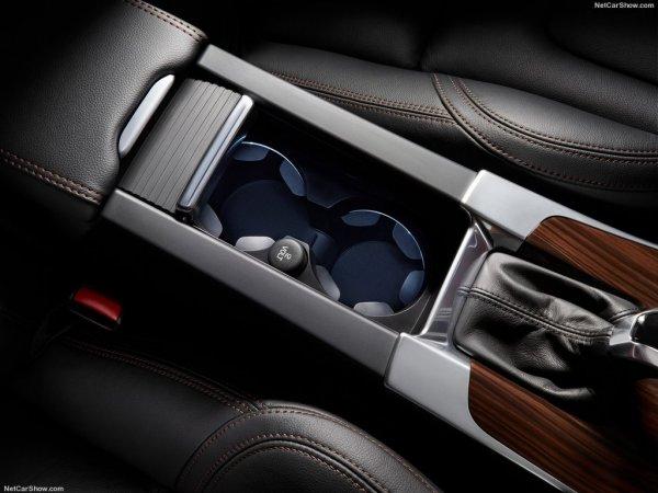 Volvo V60 Cross Country нового поколения, элемент интерьера