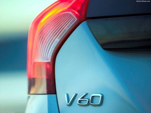 Обновленный Volvo V60 Cross Country, задние левые фары