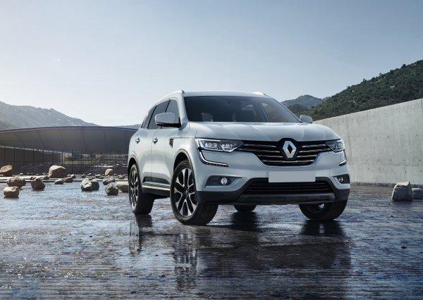 Второе поколение Renault Koleos 2017