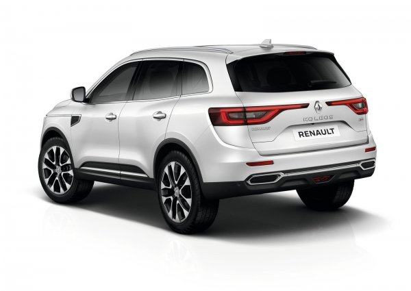 Renault Koleos 2017, вид сзади