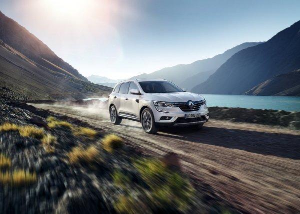 Renault Koleos 2017, вид спереди