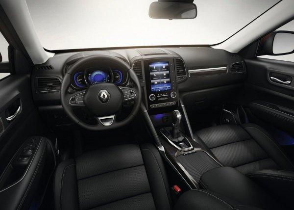 Передняя панель Renault Koleos 2017
