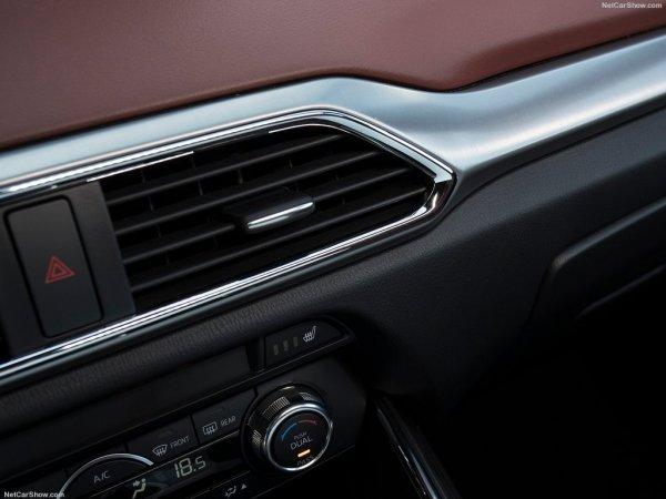 Воздушный дефлектор Mazda CX-9 2016