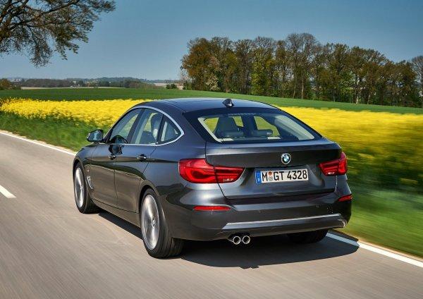 Задняя оптика BMW 3-Series Gran Turismo 2017