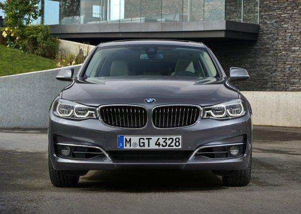 Обновленный BMW 3-Series GT 2017