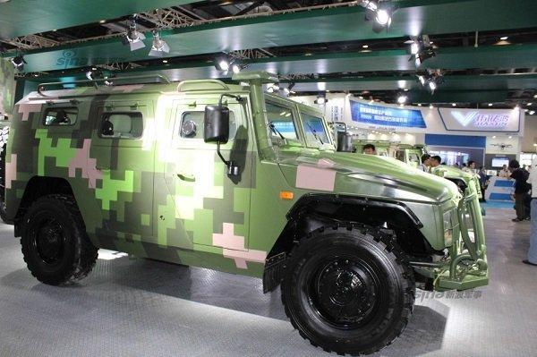 В Китае наладили производство российского бронеавтомобиля