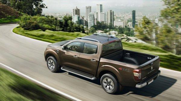 Renault Alaskan, вид сбоку
