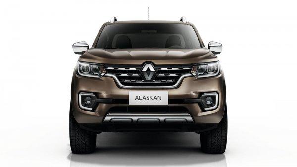 Передняя оптика Renault Alaskan