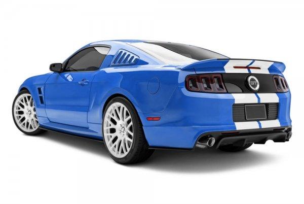 Спойлер на Ford Mustang