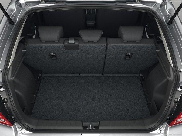 Baleno 2016, багажник