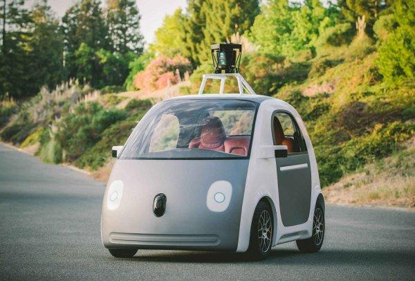 Беспилотный автомобиль от Гугла