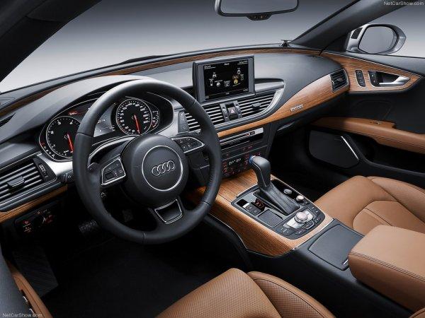 Audi A7 2016 - интерьер