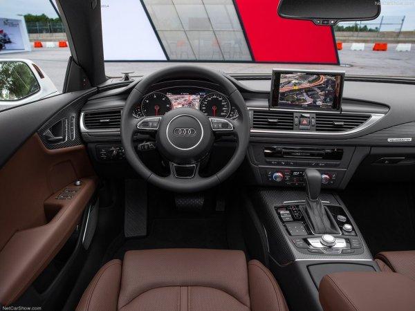 Фото салона Audi A7 2016