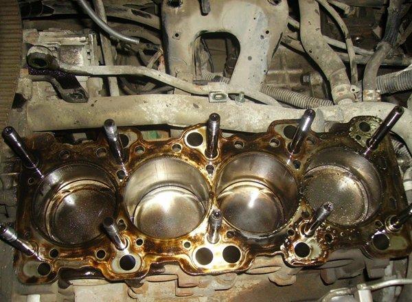 Механичесике неполадки двигателя