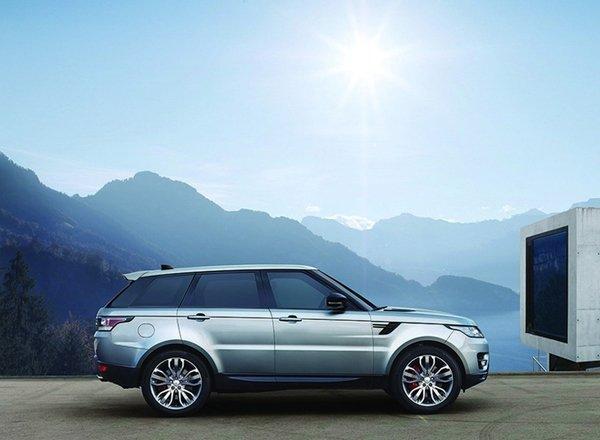 Land Rover Range Rover Sport 2017, вид сбоку