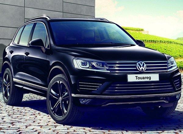 Эксклюзивный Volkswagen Touareg R-line