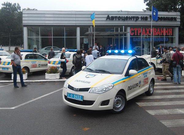 Полицейский ZAZ Vida