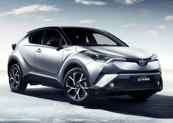 Новый кроссовер Toyota C-HR