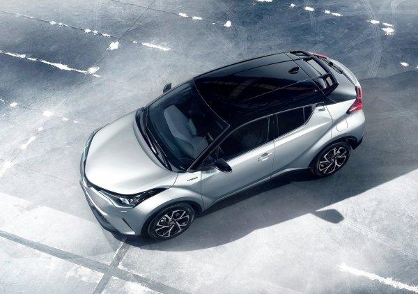 Крыша нового Toyota C-HR