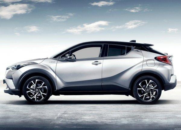 Toyota C-HR, вид сбоку