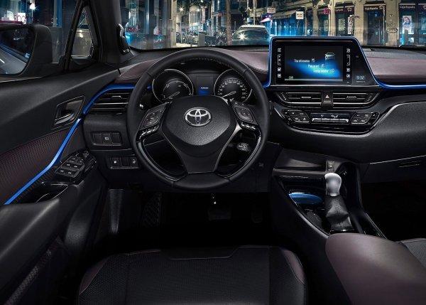 Передняя панель Toyota C-HR 2017