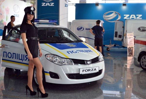 Полицейский ZAZ Forza