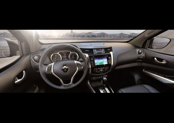 Передняя панель Renault Alaskan