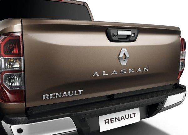 Крышка багажника Renault Alaskan