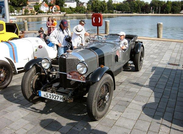 Mercedes SS rennsport 1927 года