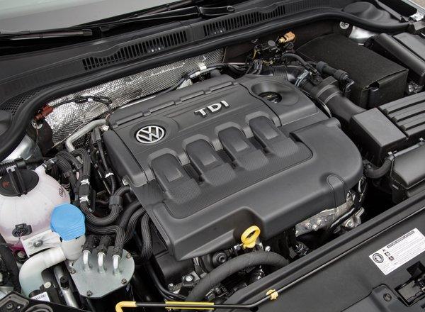 TDI двигатель компании Volkswagen