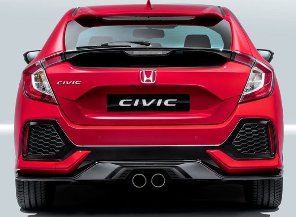 Задняя оптика Honda Civic