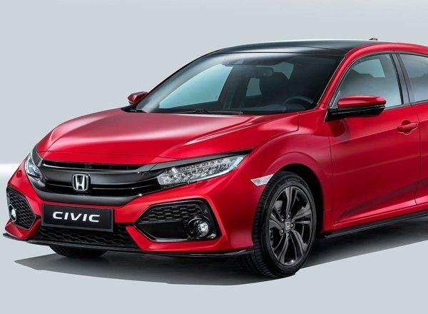 Honda Civic, вид спереди