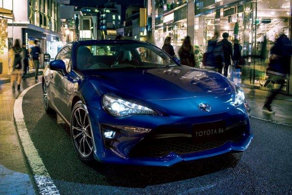 Безопасность нового Toyota 86