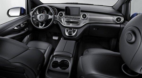 Интерьер нового Mercedes-Benz V-Class