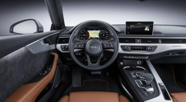 Интерьер новой Audi A5 Coupe