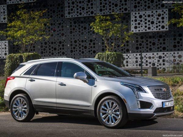 Cadillac XT5 в профиль