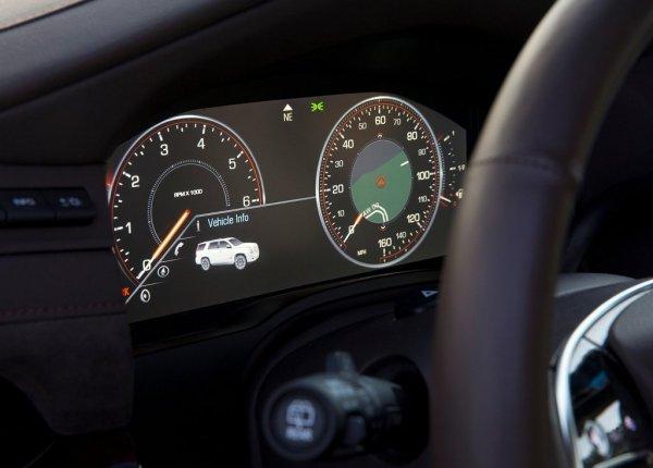 Панель приборов Cadillac Escalade
