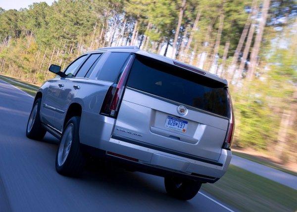 Cadillac Escalade 2016, вид сзади