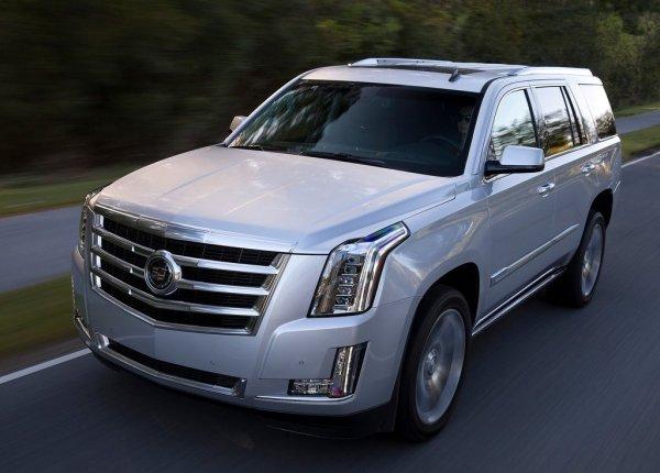 Новый Cadillac Escalade 2016
